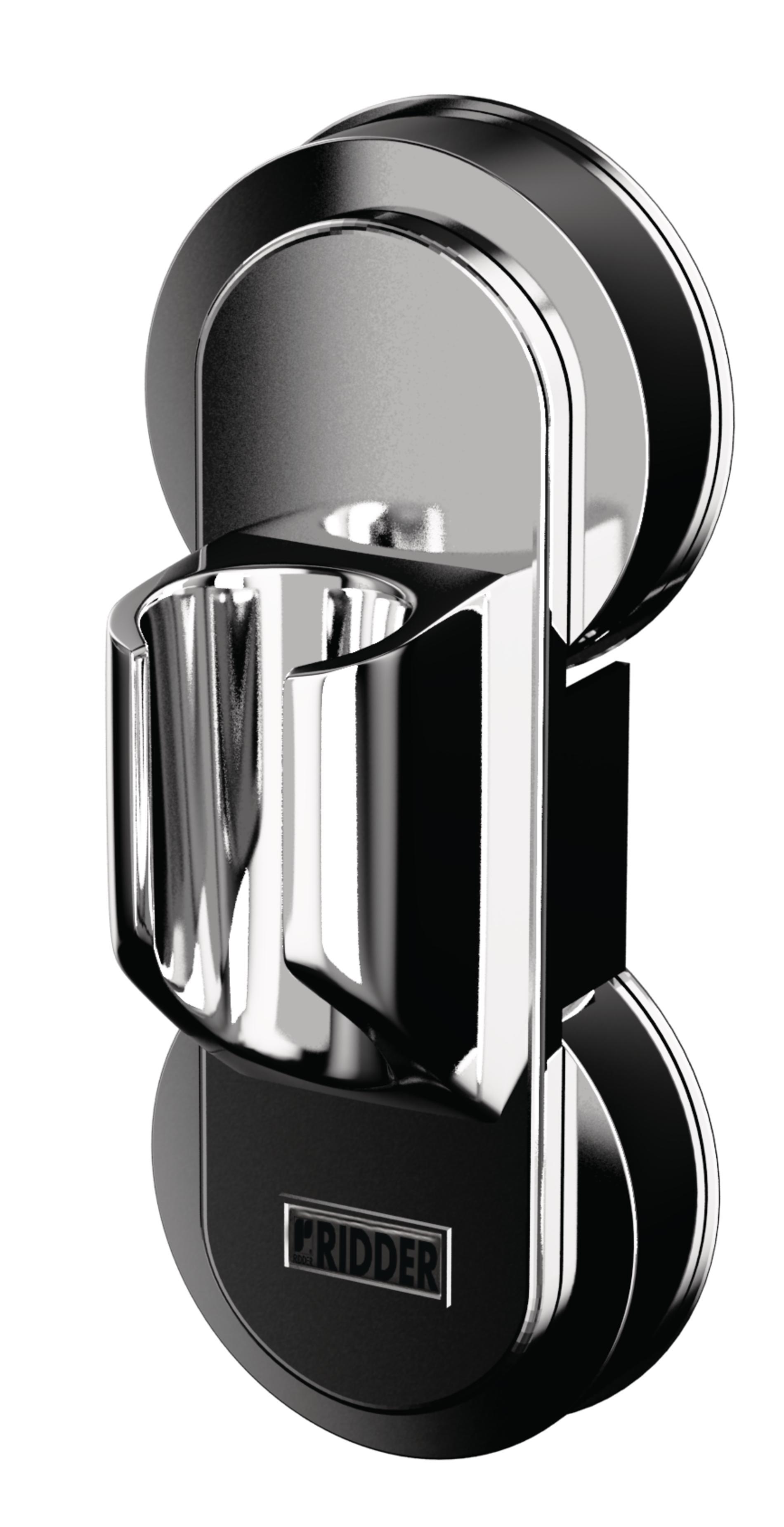 RIDDER Saug-Brausekopfhalter 65x146x52 mm silber Brausehalter Handbrause Brause